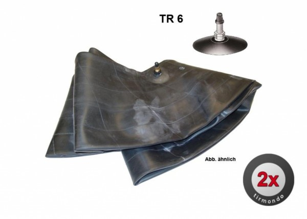 2x Schlauch S 3.50/4.60-16 +TR6+ BOX