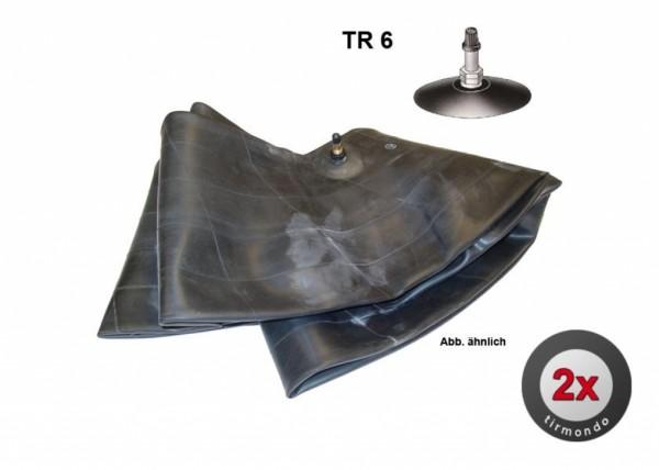 2x Schlauch S 22x11.00-9 +TR6+
