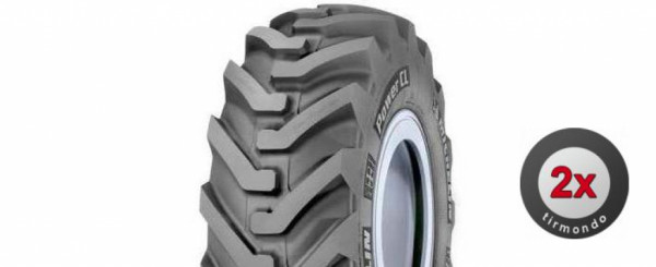 2x 440/80-28 MICHELIN POWERCL 156A8 TL