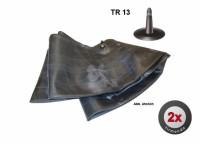 2x Schlauch S 7.50-16: 9.50-16.5 +TR13+