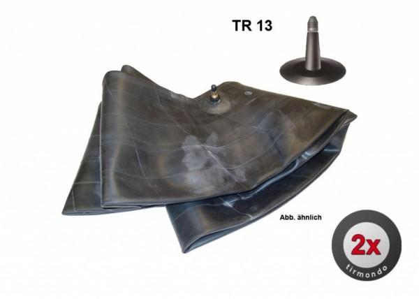 2x Schlauch S 16x6.50/7.50-8 +TR13+