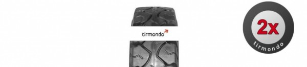 2x 8.25-15 GLOBAL RUBBER INDUSTRIES ULTI