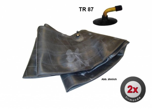 2x Schlauch S 3.00/3.50-10 +TR87+ BOX
