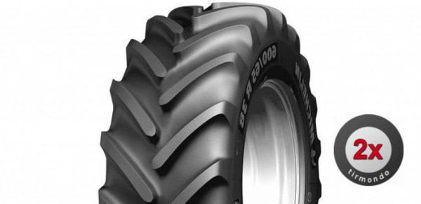 2x 480/65R28 MICHELIN MULTIBIB 136D
