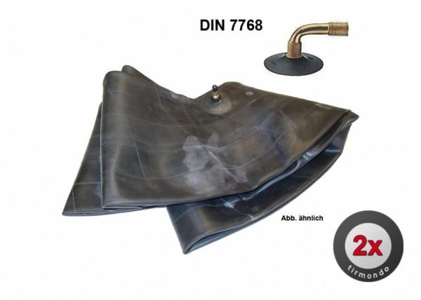 2x Schlauch S 2.50-3 DIN-7768 +90/35+