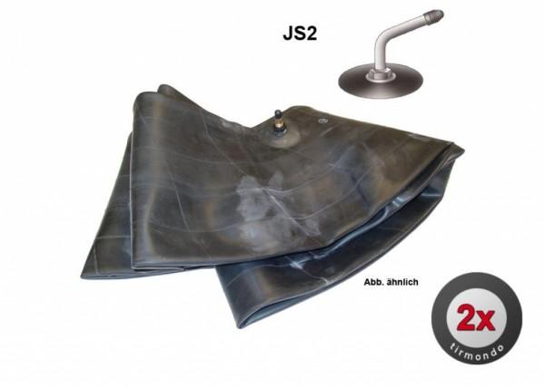2x Schlauch S 6.00/6.50-15 +JS2+
